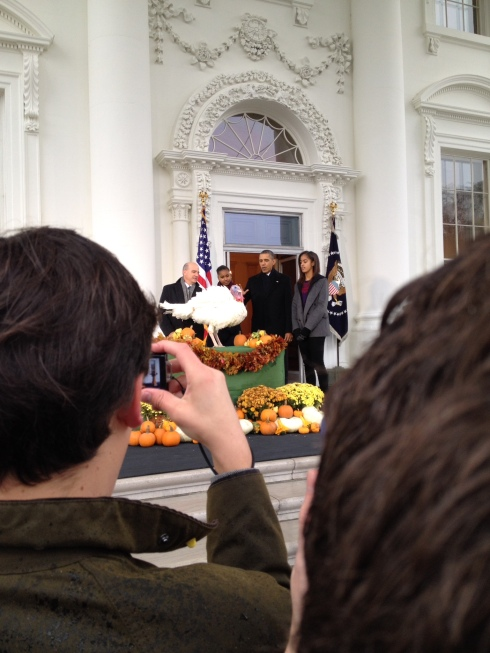 Thanksgiving in Washington DC - #PresidentialTurkey13 | via MyOtherMoreExcitingSelf.wordpress.com