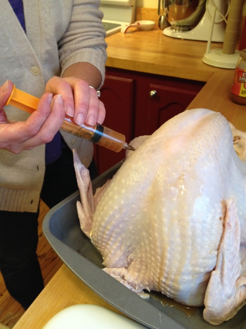 Deep Fried Turkey - Indoors! | via MyOtherMoreExcitingSelf.wordpress.com