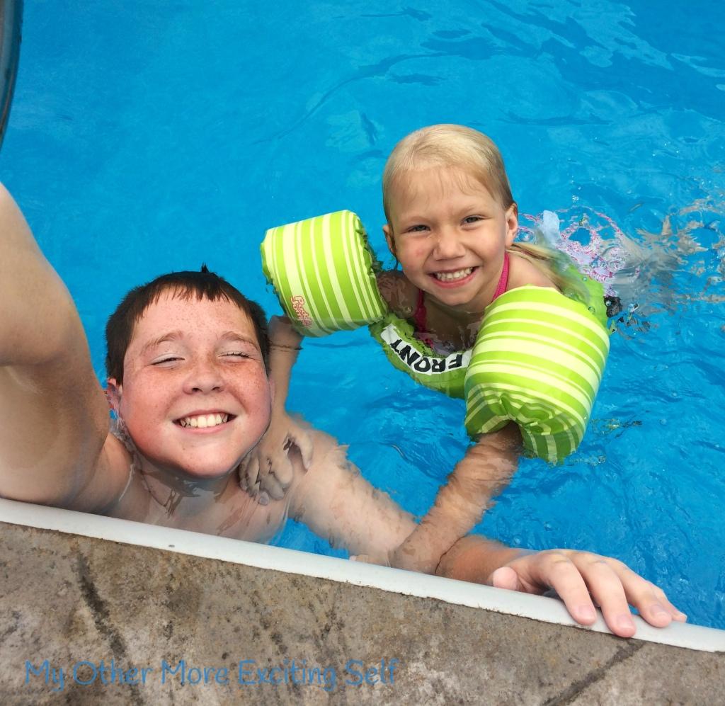 Pool Party!   via MyOtherMoreExcitingSelf.wordpress.com