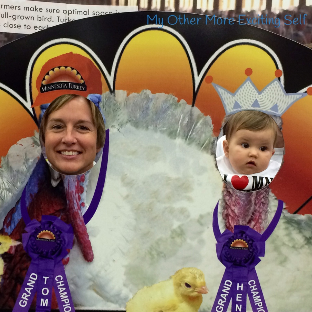 State Fair 2014 - Gobble, Cluck & Cheese Curds   via MyOtherMoreExcitingSelf.wordpress.com