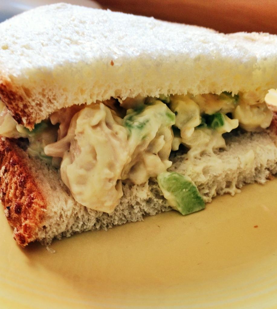 Turkey Salad Sandwiches   via MyOtherMoreExcitingSelf.wordpress.com #SwitchToTurkey #JennieO #TurkeyEveryday
