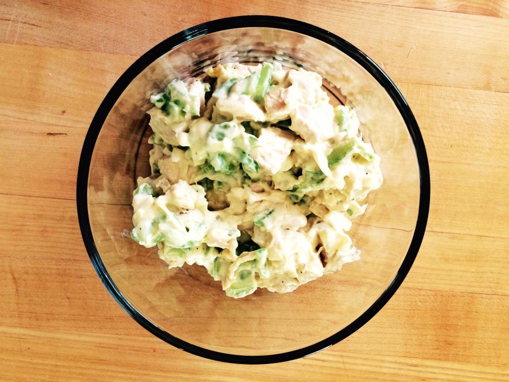 Turkey Salad Sandwiches | via MyOtherMoreExcitingSelf.wordpress.com #SwitchToTurkey #JennieO #TurkeyEveryday