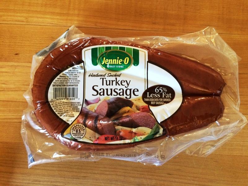 Macaroni & Cheese with Smoked Turkey Sausage | via MyOtherMoreExcitingSelf.wordpress.com