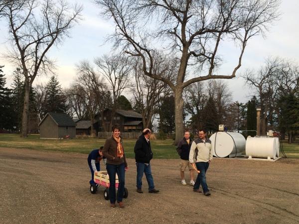 Family Farm in Minnesota | via MyotherMoreExcitingSelf.wordpress.com