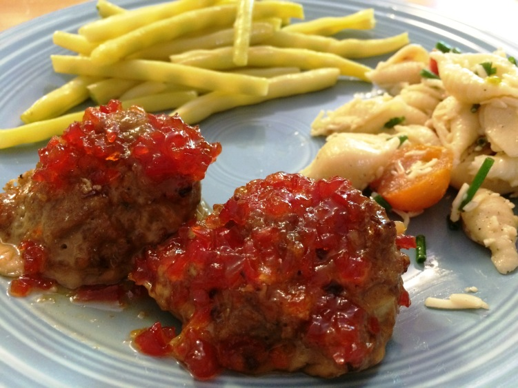 Jalapeno Turkey Meatballs | via MyOtherMoreExcitingSelf.wordpress.com #SwitchToTurkey #TurkeyEveryday #JennieO
